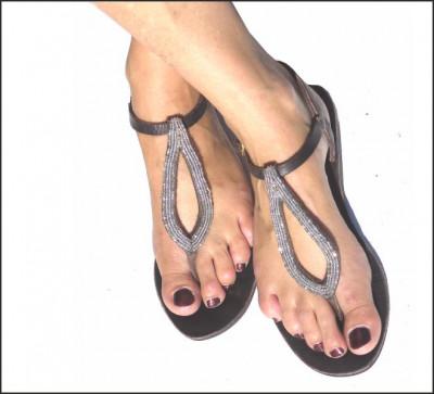 conception adroite check-out célèbre marque de designer Bon plan Promotion: Sandales cuir-Tongs d'été- Ceintures ...