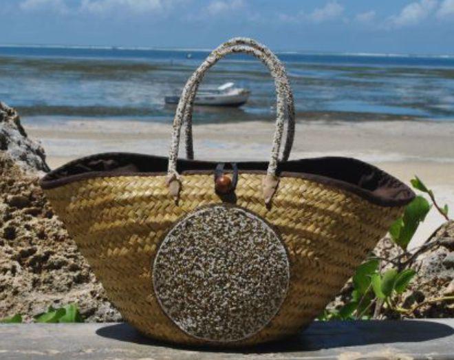 cabas tendance sac panier de plage perles sandales en cuir femmes tongs sacs ceintures. Black Bedroom Furniture Sets. Home Design Ideas